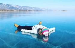 Ледяная сказка острова Ольхон